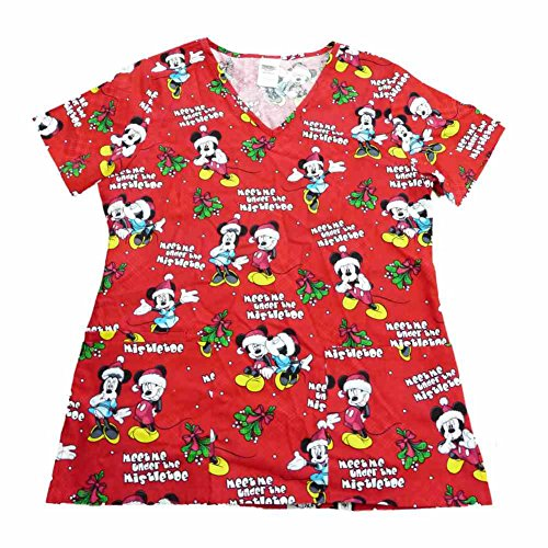 Christmas Scrubs for Nurses and Other Medical Personnel