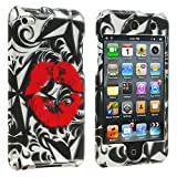 Hot Lip Design Crystal Hard Skin Case Cover New for Apple Ipod Touch iTouch 4th Generation Gen 4g 4 8gb 32gb 64gb - Electromaster(TM) Brand