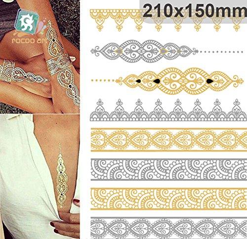 golden-metallic-gold-body-art-temporary-removable-tattoo-stickers-with-golden-pattern-2-sticker-tatt