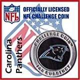 Carolina Panthers NFL Football Helmet Challenge Coin Poker Card Guard with Air Tite Holder at Amazon.com