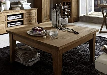 "Sit-Möbel 7991-01 mesa de centro ""Romanteaka"", 90 x 140 x 45 cm, madera de teca reciclada"