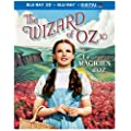 Wizard of Oz: 75th Anniversary Edition [Blu-ray 3D + Blu-ray + UltraViolet]