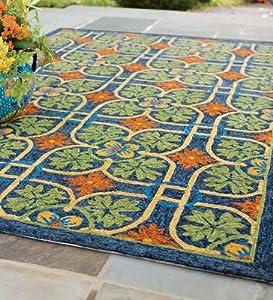 Amazon Talavera Tile Indoor Outdoor Rug 5 x 7 6