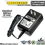 "LIVESTRONG LS8.0E, LS5.0R, LS6.0R, LS5.0U Home Gym Power® ""Wall Plug"" AC Adapter / Power Cord"