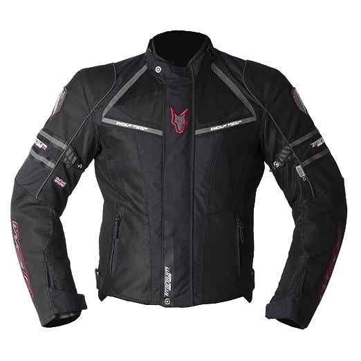Wolf titane Air 2070 moto Jacket Black