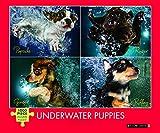 Underwater Puppies 1,000 Piece Jigsaw Puzzle