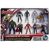 Marvel Avengers Age of Ultron Avengers vs Ultron Action Figure 9-Pack