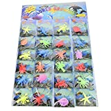 Gadgets Hut UK - Pack of 24 Jelly Growing Sea Life Creatures Animals Amazing toys for children boys and girls