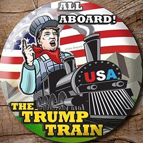 6-pack-all-aboard-the-trump-train-donald-trump-2016-campaign-button-pin-badge-225-six-buttons