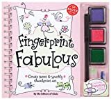 Fingerprint Fabulous: Create Sweet and Sparkly Thumbprint Art (Klutz)