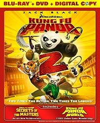 Kung Fu Panda 2 Blu-Ray / DVD Combo Pack with Digital Copy