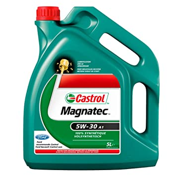 castrol huile huile moteur auto castrol magnatec 5w30 a1 5l 5l m299. Black Bedroom Furniture Sets. Home Design Ideas
