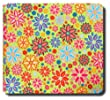 Collected Memories Bad To The Bone Fabric Covered 12-Inch by 12-Inch Premium Post-Bound Scrapbook Album