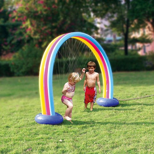Pool Slides:Sizzlin' awesome Rainbow Sprayer Images
