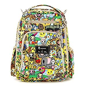 Ju-Ju-Be Be Right Back TokiDoki Collection Backpack Diaper Bag, Animalini by Ju-Ju-Be by Ju-Ju-Be