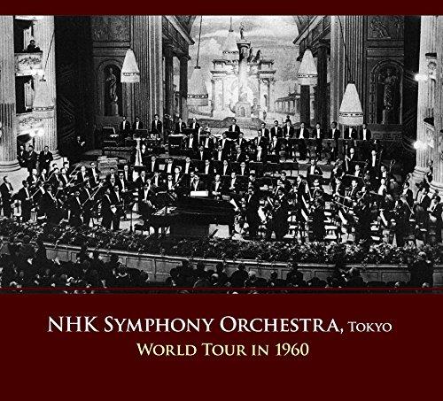 NHK交響楽団 世界一周演奏旅行 1960 (8CD) [日本語帯・解説付]