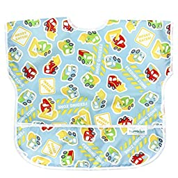 Bumkins Waterproof Junior Bib, Construction (1-3 Years)