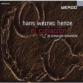 Hans Werner Henze: El Cimarron