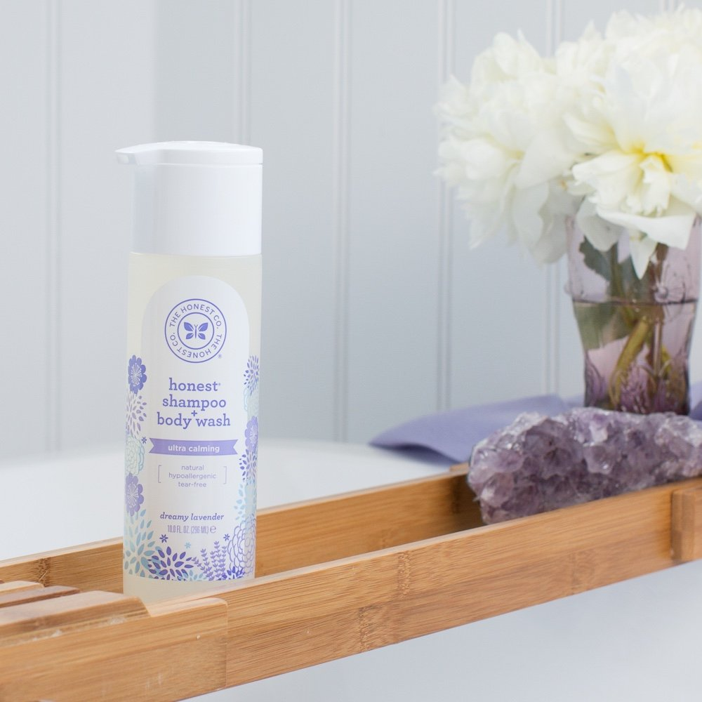Honest Lavender Shampoo Body Wash