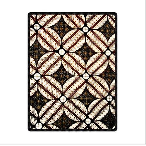 Best Custom Blanket,Personalized Batik Fabric Fleece Blanket 58 X 80 (Large)