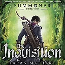 The Inquisition Audiobook by Taran Matharu Narrated by Ralph Lister