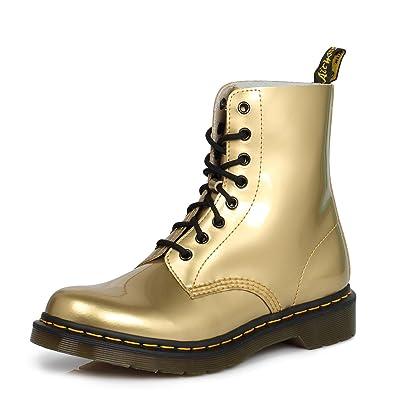Dr Martens Gold Pascal Donna Patent Pelle Stivali  Huge Discount ... 319633e5561