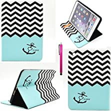 buy Ipad 4 Case, Casemart New Full Protective Premium Pu Leather Folio Stand Cover Case Wallet Style [Scratch-Resistant] Flexible Shell Case For Apple Ipad 2/3/4 -Stripe