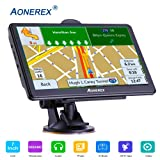 GPS Navigation car,[2019 Upgraded Version] 7 inch HD Capacitive Touch Screen GPS Navigation System with 8G Memory, Attach Sunshade,Free Lifetime Maps (Color: model 7)