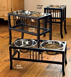 Orvis Wrought-iron Mission-style Feeder / Double X-large Feeder