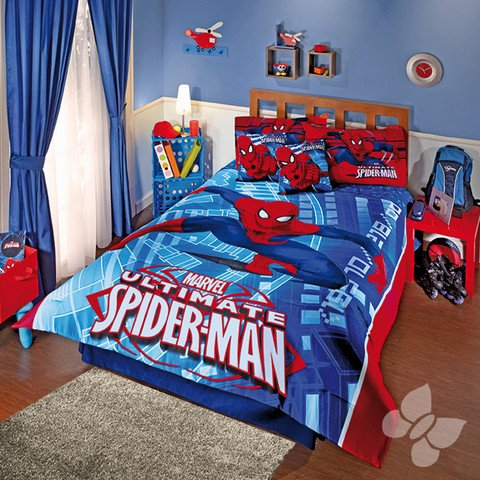 Spiderman Twin Comforter front-1080629