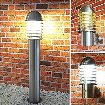 B-Karton Außenleuchte Philips LED 6W Gartenleuchten Aussenlampe Edelstahl Lampe