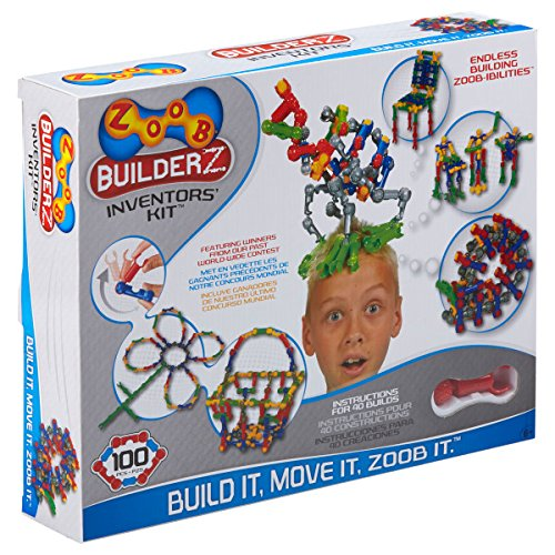 ZOOB BuilderZ Inventor's Kit (Zoob Building Set compare prices)