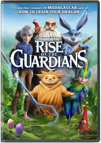 DVD : Rise of the Guardians (Dubbed, Dolby, AC-3, Widescreen, )
