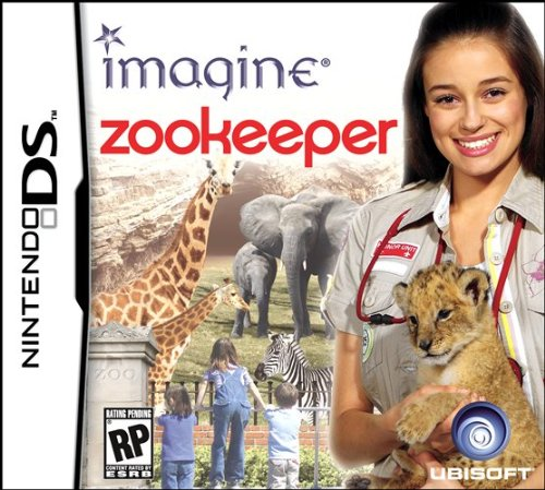 Imagine: Zookeeper - Nintendo Ds front-938433