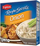 Lipton Recipe Secrets Soup and Dip Mix, Onion 2 oz (Pack of 6)