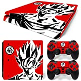 GoldenDeal PS4 Slim Skin and DualShock 4 Skin - DBZ - PlayStation 4 Slim Vinyl Sticker for Console and Controller Skin