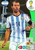 FIFA World Cup 2014 Brazil Adrenalyn XL Javier Mascherano Utility Player