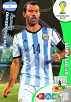 FIFA World Cup 2014 Brazil Adrenalyn XL Javier Mascherano Utility Player