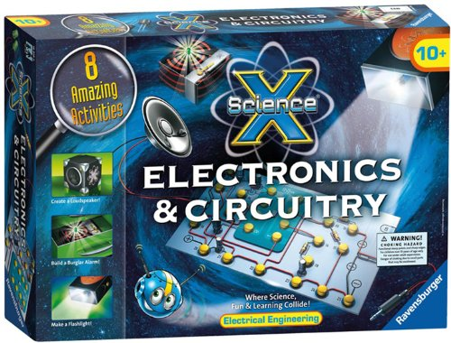 ravensburger-science-x-maxi-electronics-and-circuitry-juego-de-circuitos-y-electronica