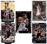 Kawhi Leonard (5) Basketball Cards - San Antonio Spurs Assorted NBA Basketball Trading Cards # 2
