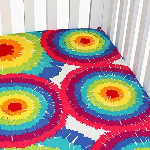 Purple Tie Dye Bedding 3745 front