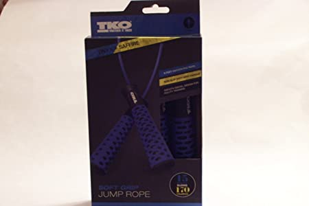 TKO 9-ft. Jump Rope with Soft-Grip Handles by TKO