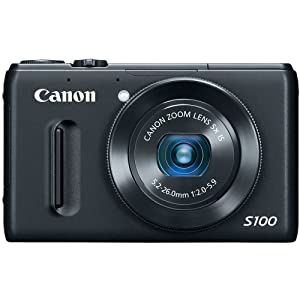 Amazon - Canon PowerShot S100 12.1-MP f/2 Digital Camera - $249