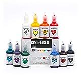 ResinTint - Liquid Pigment - Non-Toxic - Non-Flammable - Originals - 10 Pack