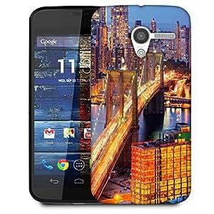 Snoogg Lightful Bridge Designer Protective Phone Back Case Cover For Moto X / Motorola X