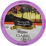 Kona Classic Kcup 80 Pack Hawaiian Isles Kona Coffee Single Serve Cups for Keurig Brewers
