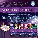 Sin City Collectors Boxed Set: Aces Wild, Ante Up, All in Audiobook by Amanda Carlson Narrated by Emma Wilder