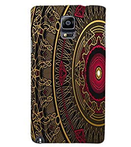SAMSUNG GALAXY NOTE 3 ART Back Cover by PRINTSWAG