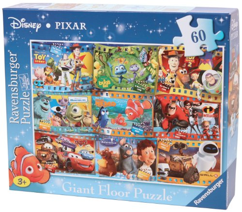 Cheap Fun Ravensburger Disney Pixar 60 Piece Giant Floor Puzzle (B004I8VMQ6)