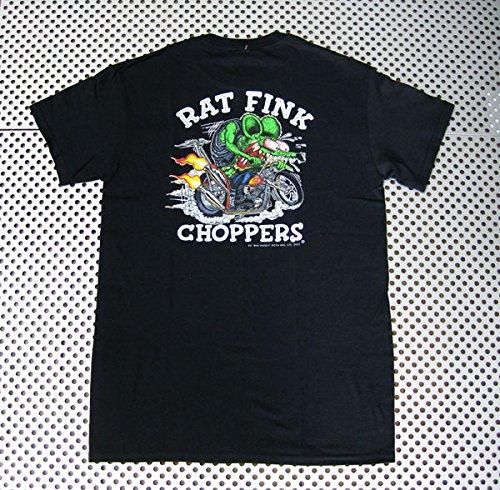 RAT FINK ラットフィンク Tシャツ(RIT204)ロックTシャツ/バンドTシャツ/Tシャツ/ロック/バンド ファッション/Rock/rock/band T-SHIRTS/メンズ/レディース/半袖 アメリカン雑貨 アメリカ雑貨 ラットフィンク (L)